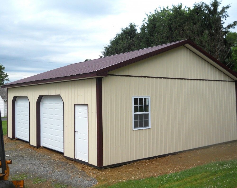 Pin by pioneer pole buildings inc on two car garages for 2 car pole garage