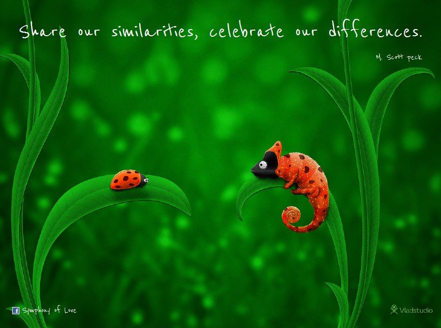 celebrating difference Embracing our differences is a not-for-profit organization that uses the power of art and education to expand consciousness and open the heart to celebrate the.