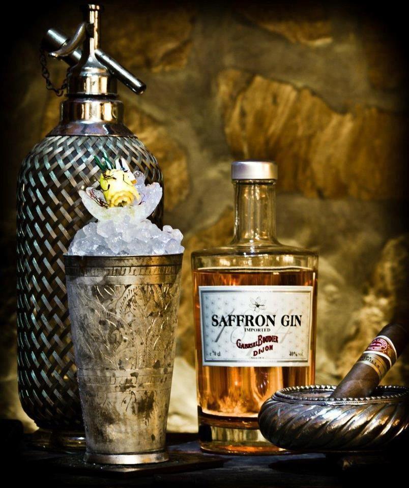 Saffron Gin | Cocktail Time! | Pinterest