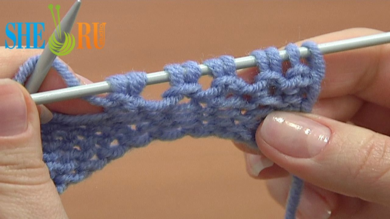 Knit Stitch Below Increase : Pin it Like Image
