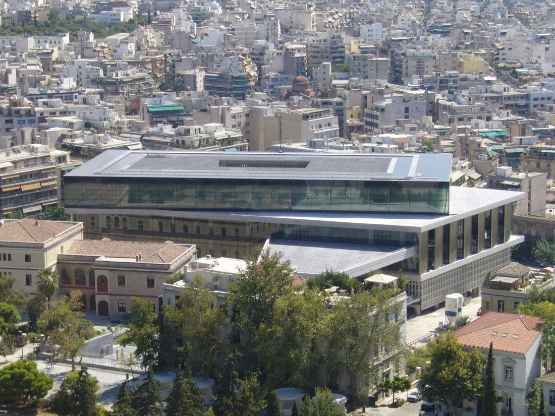 Bảo tàng Hy Lạp mới ( Acropolis)