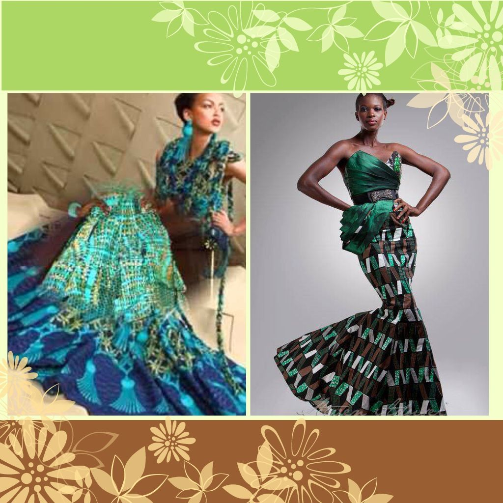 African American Inspired Wedding Dress