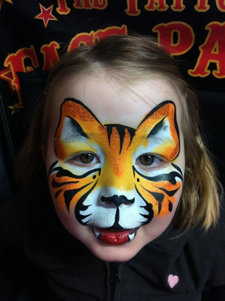 Tiger Eye Face Paint Images & Pictures - Becuo | Face ...