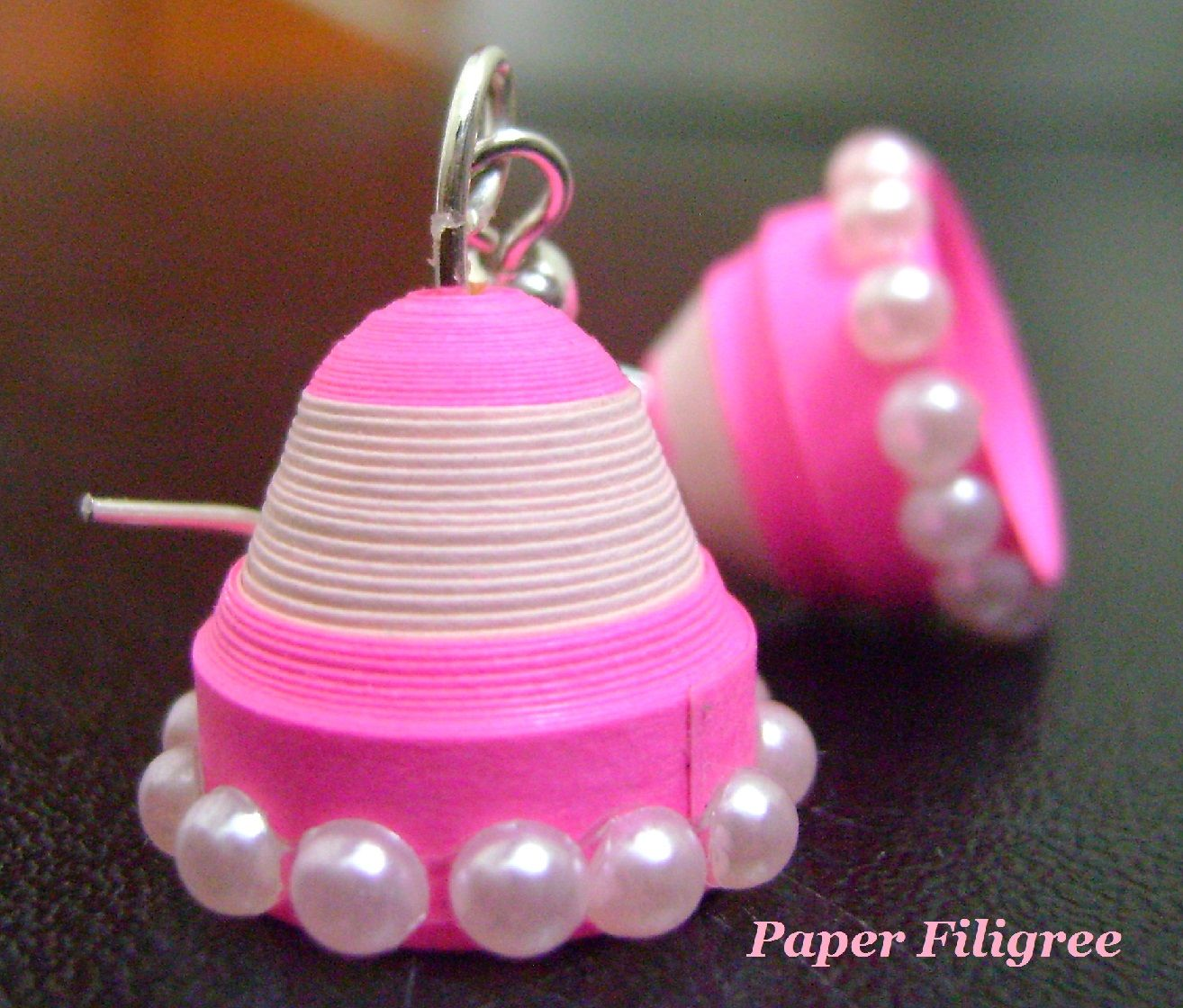 Quilling Paper Jhumka