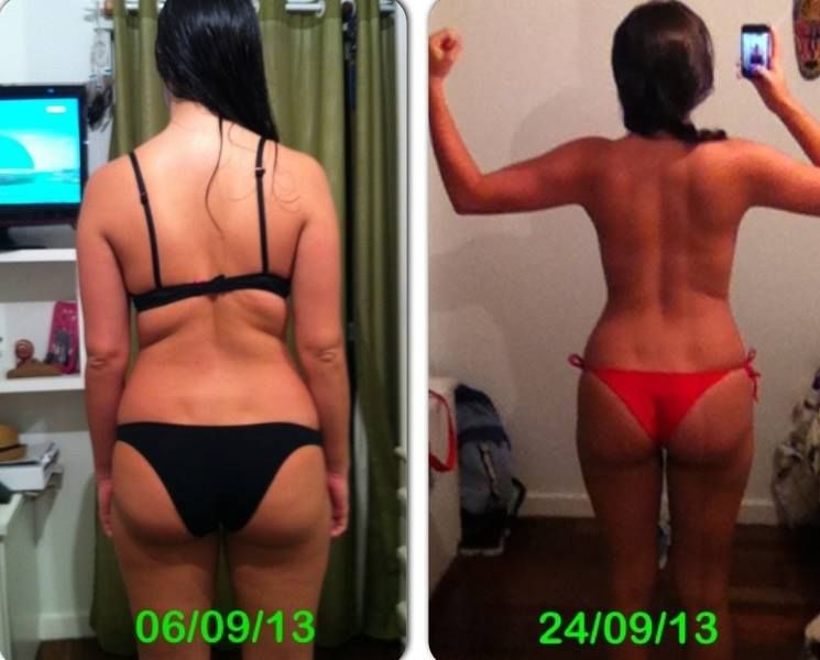 Bodyrock 30 day challenge before and after