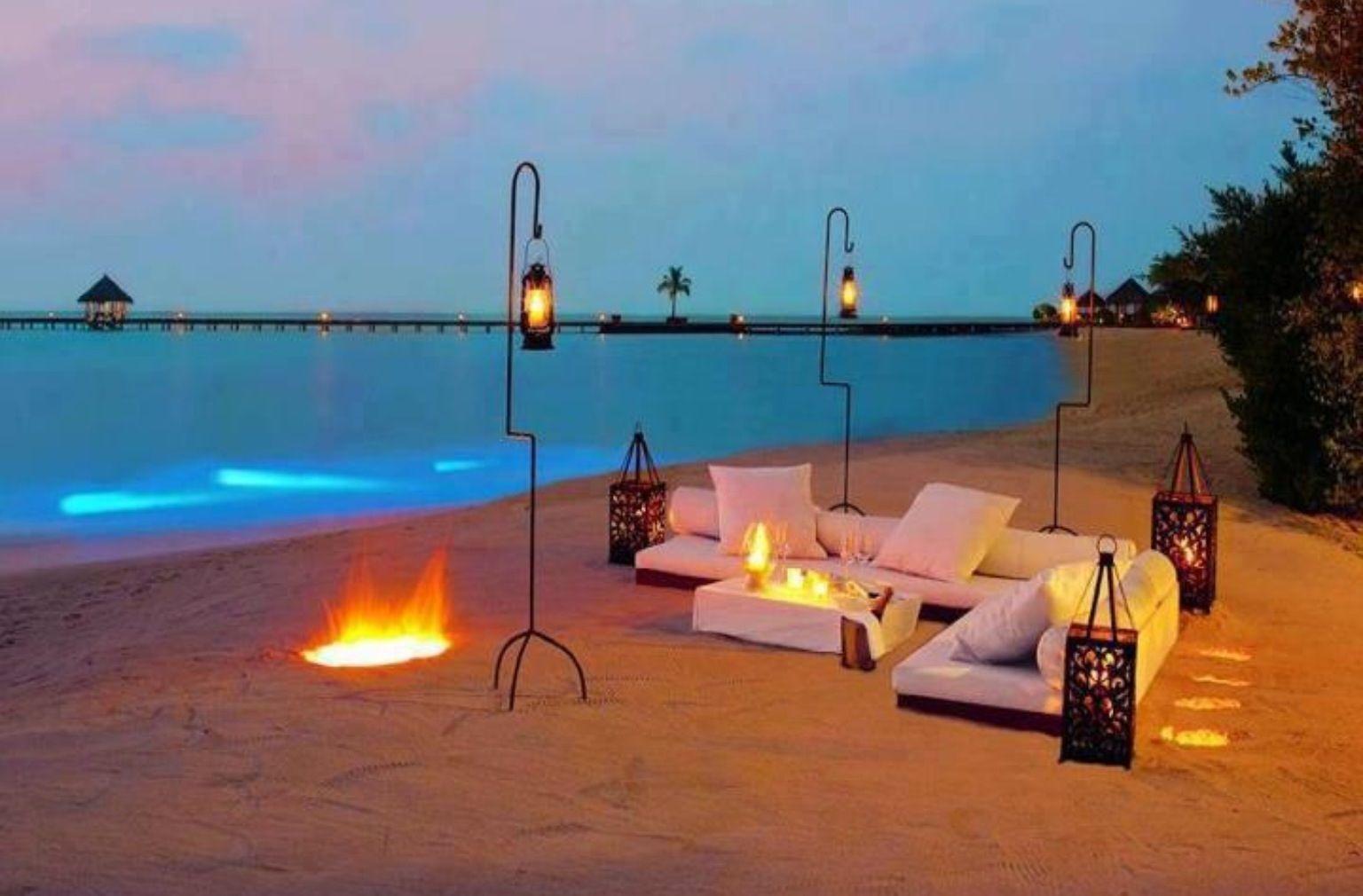 night party on beach romantic ideas pinterest