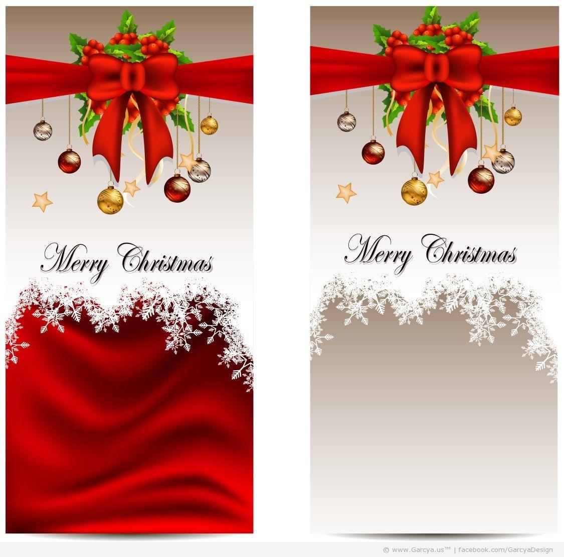 Christmas Card Templates Christmas Card Templates Free Vectors Download Holidays