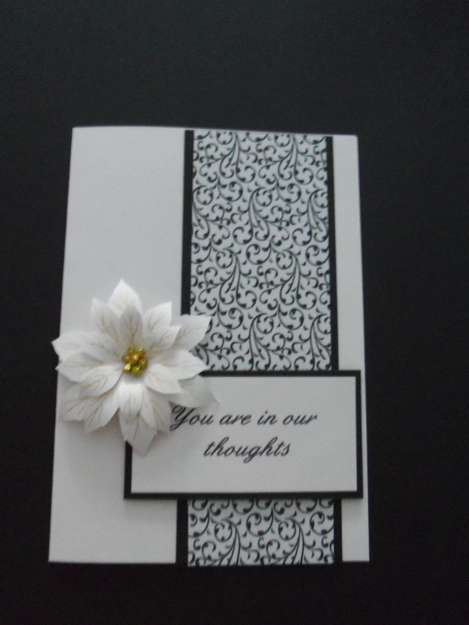 sympathy card atc cards i love pinterest