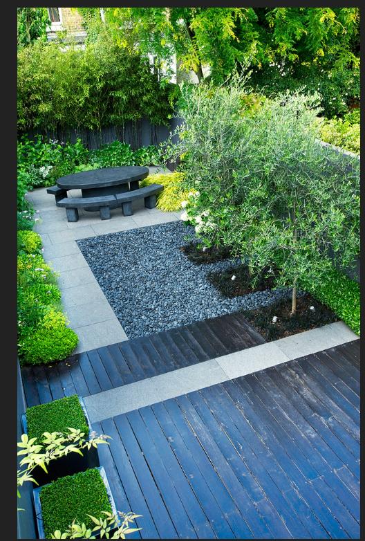 Small Urban Garden Design with Slate (media-cache-ec0.pinimg.com)