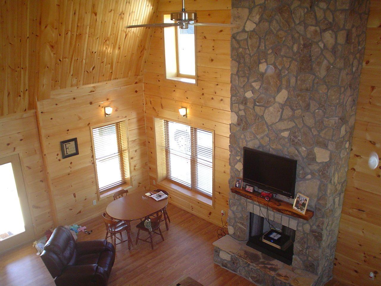 2 Story Steel Home Living Room Steel Buildings Steel