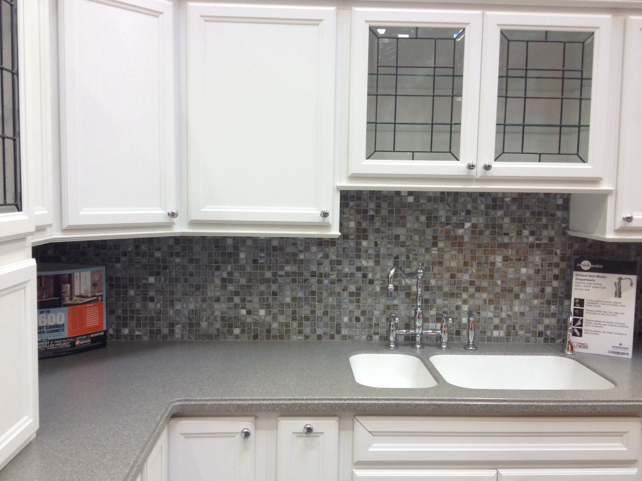 Tile backsplash home depot new house pinterest Kitchen backsplash ideas bhg