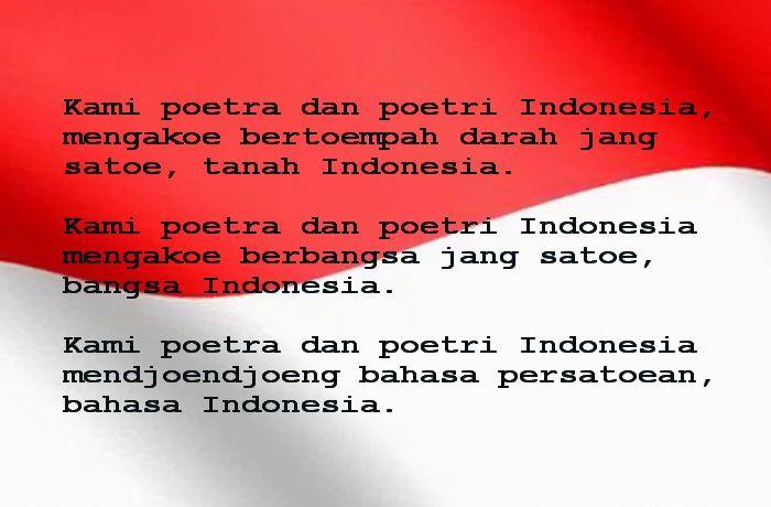 Sumpah Pemuda, Pemersatu Bangsa Indonesia