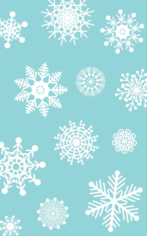 snowflake wallpaper iphone - photo #1
