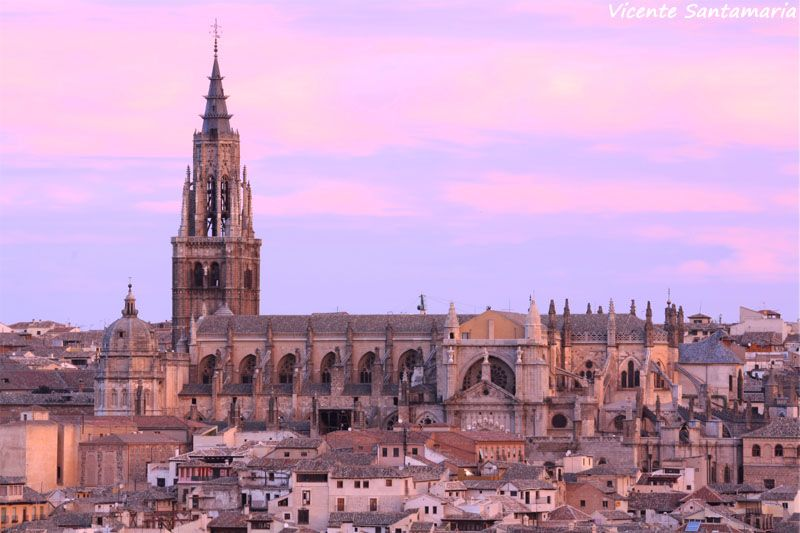 11. Catedral de Toledo.  3_Spain_Capital Madrid  Pinterest