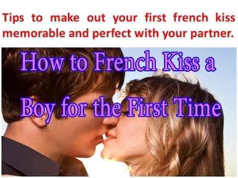 First time kissing tips