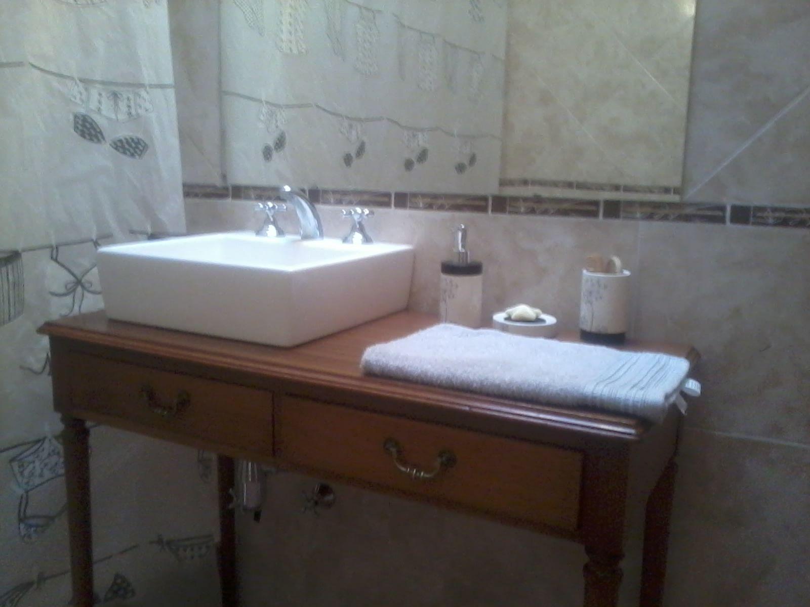 Muebles De Baño Reciclados:Baño con mueble reciclado