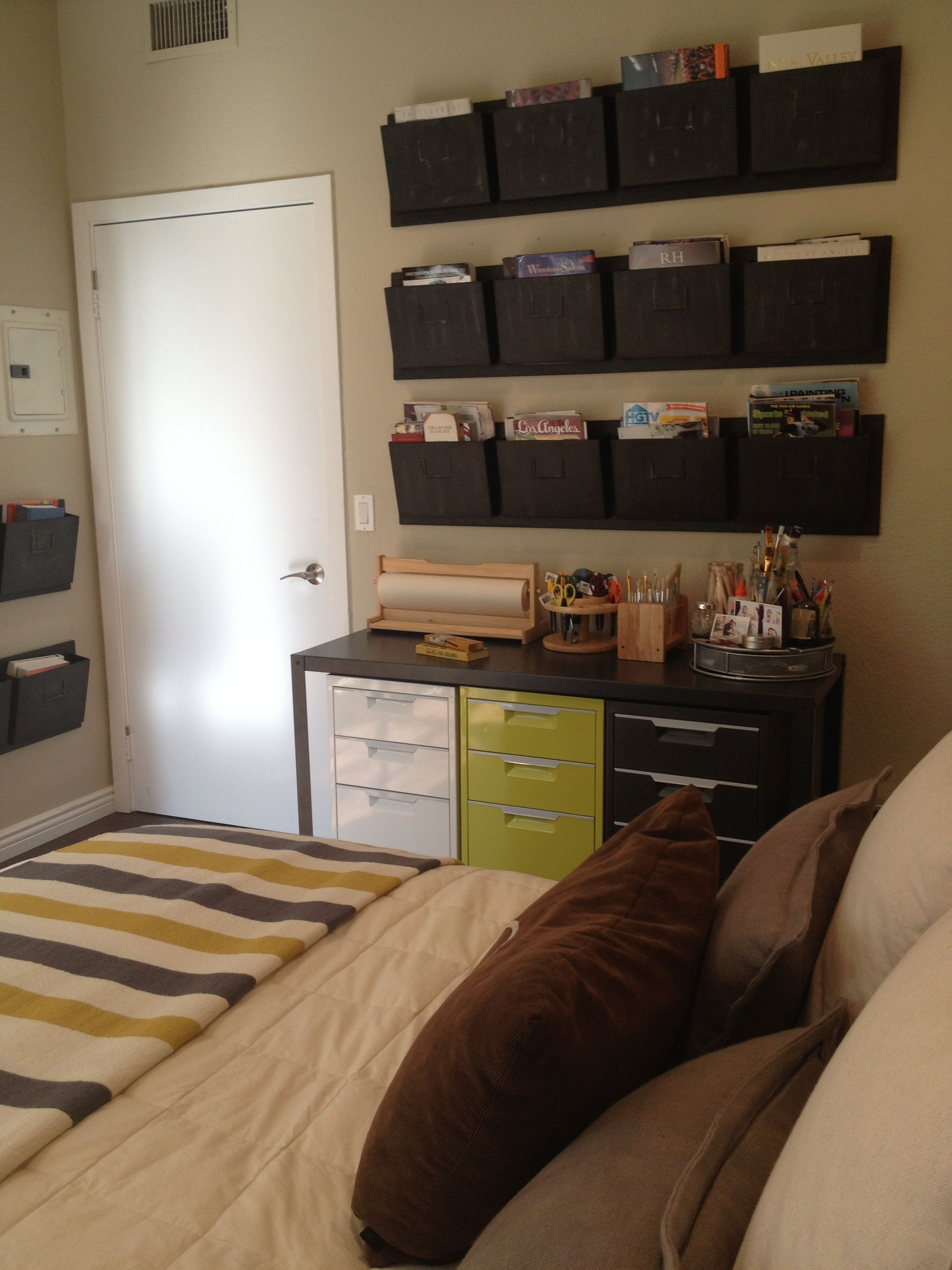 Guest Bedroom And Home Office Combo For The Home