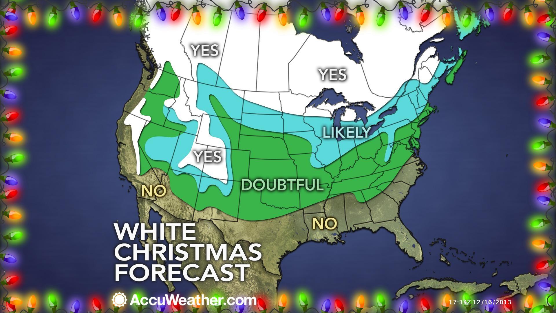 White Christmas forecast   Weather   Pinterest