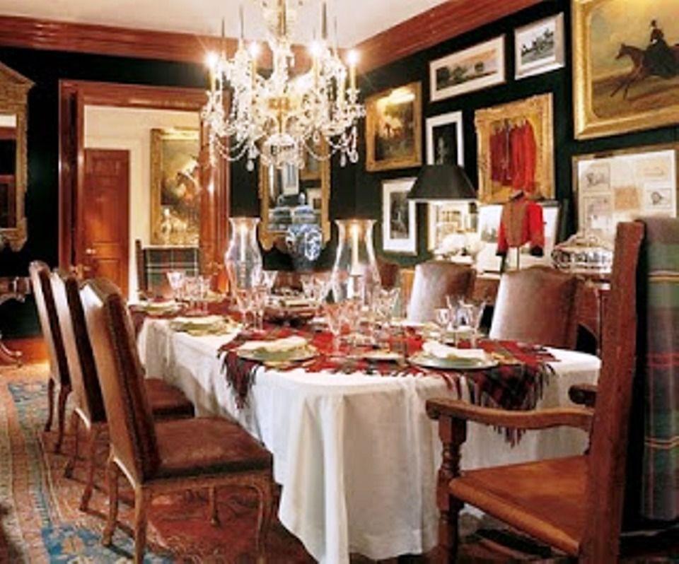 Ralph lauren bedford ny decorously devine dining rooms for Ralph lauren dining room ideas