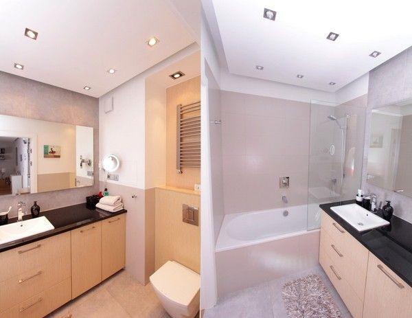 Khu vực tắm rửa và vệ sinh được bố trí hợp lý.