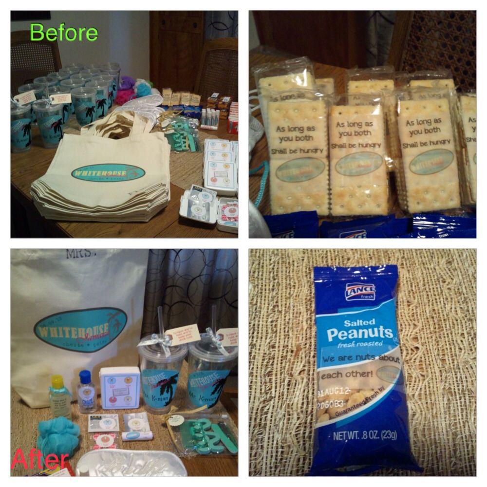 Hawaii Destination Wedding Welcome Bag Ideas : Destination wedding welcome bags Wedding Pinterest