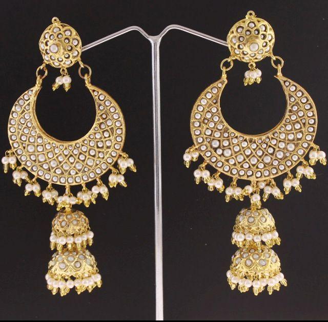 these earrings punjabi jewelry