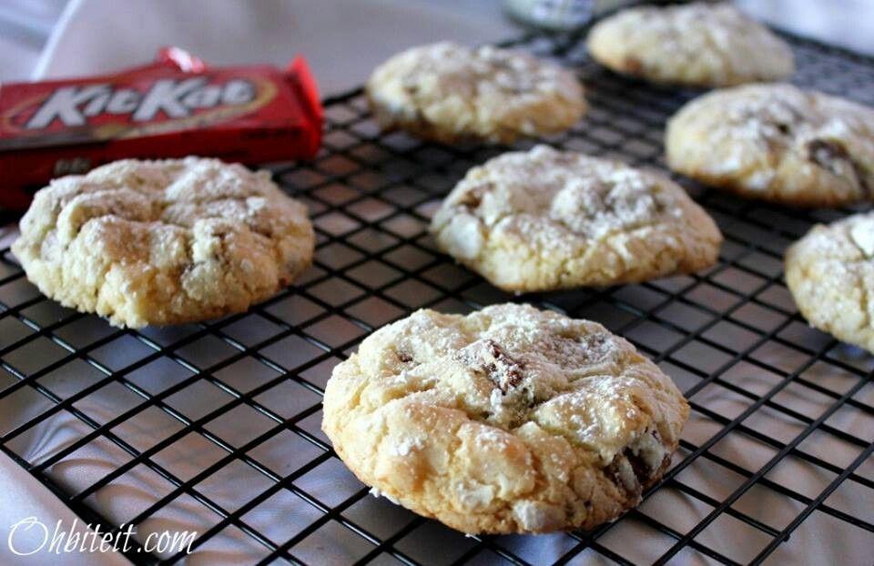 Kit Kat cookies | {Cookie} Box | Pinterest