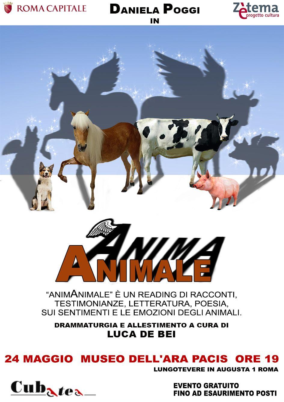 Anima Animale Roma. Allestimento Luca de Bei