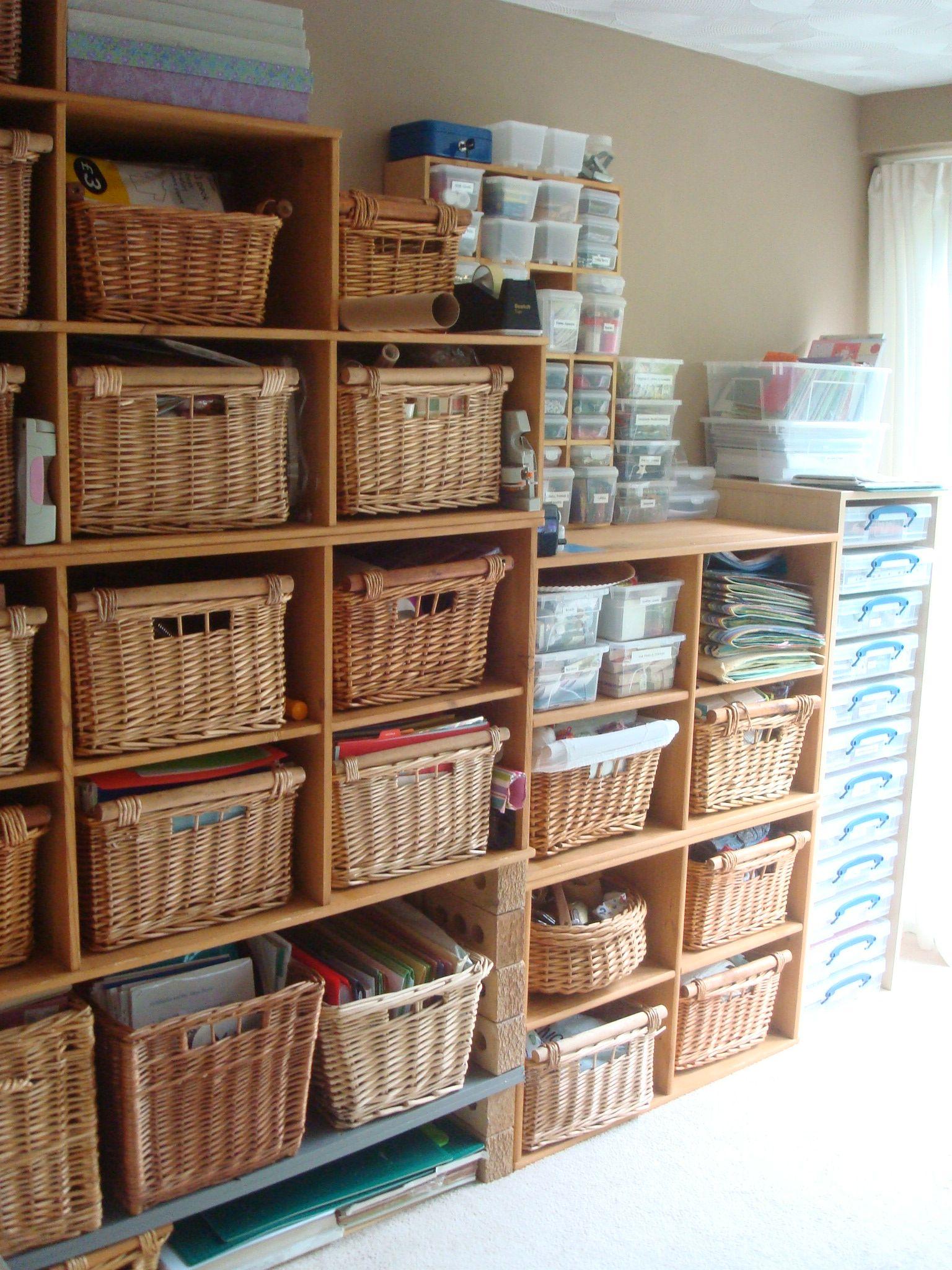Craft Room Storage Craft Ideas Pinterest