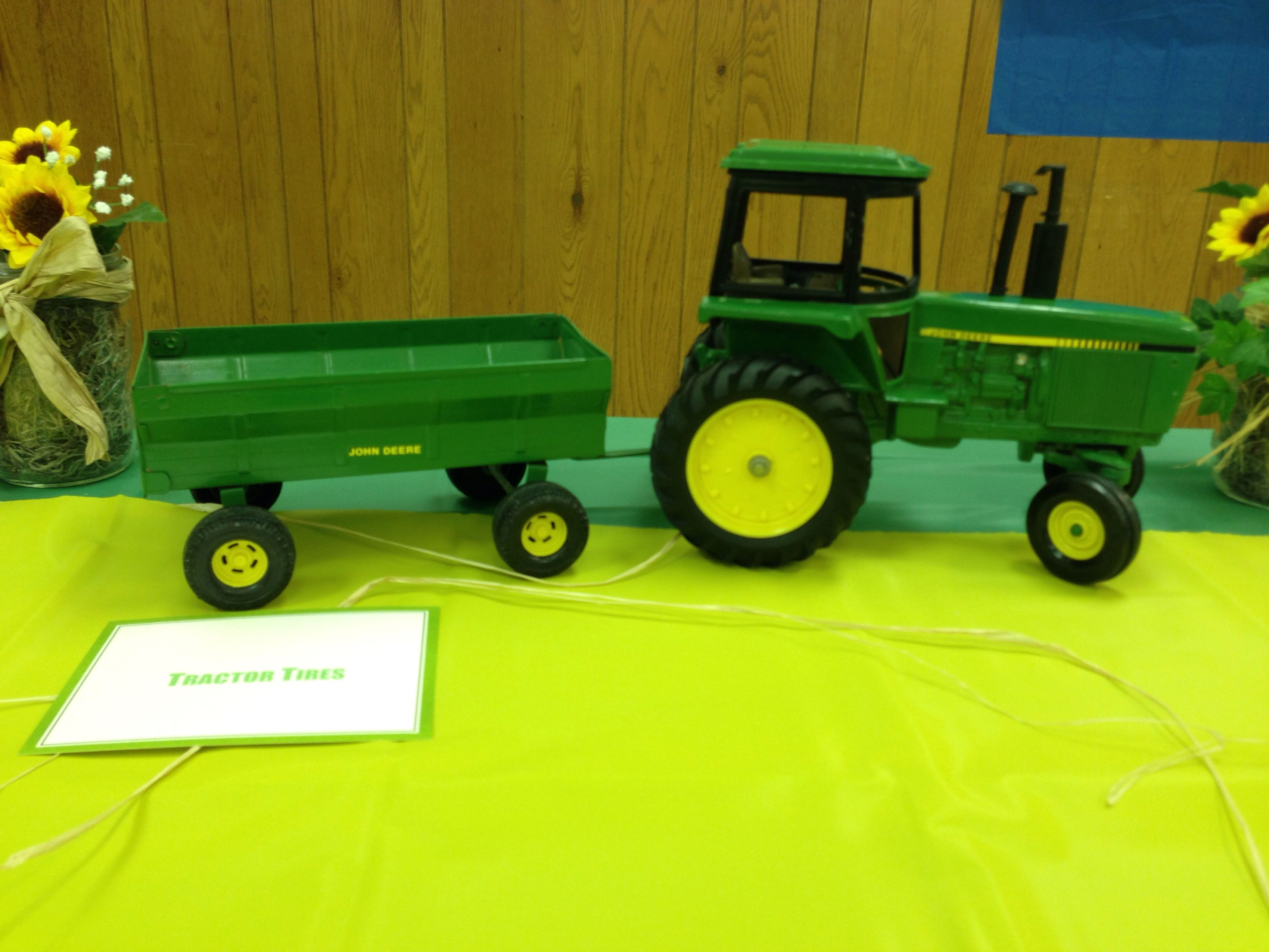john deere baby shower boy party themes pinterest