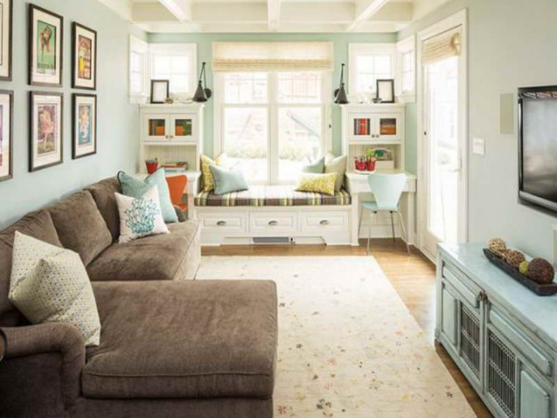 living room design long narrow  How to:How To Decorate A Long Narrow Living Room With Cabinet How to ...