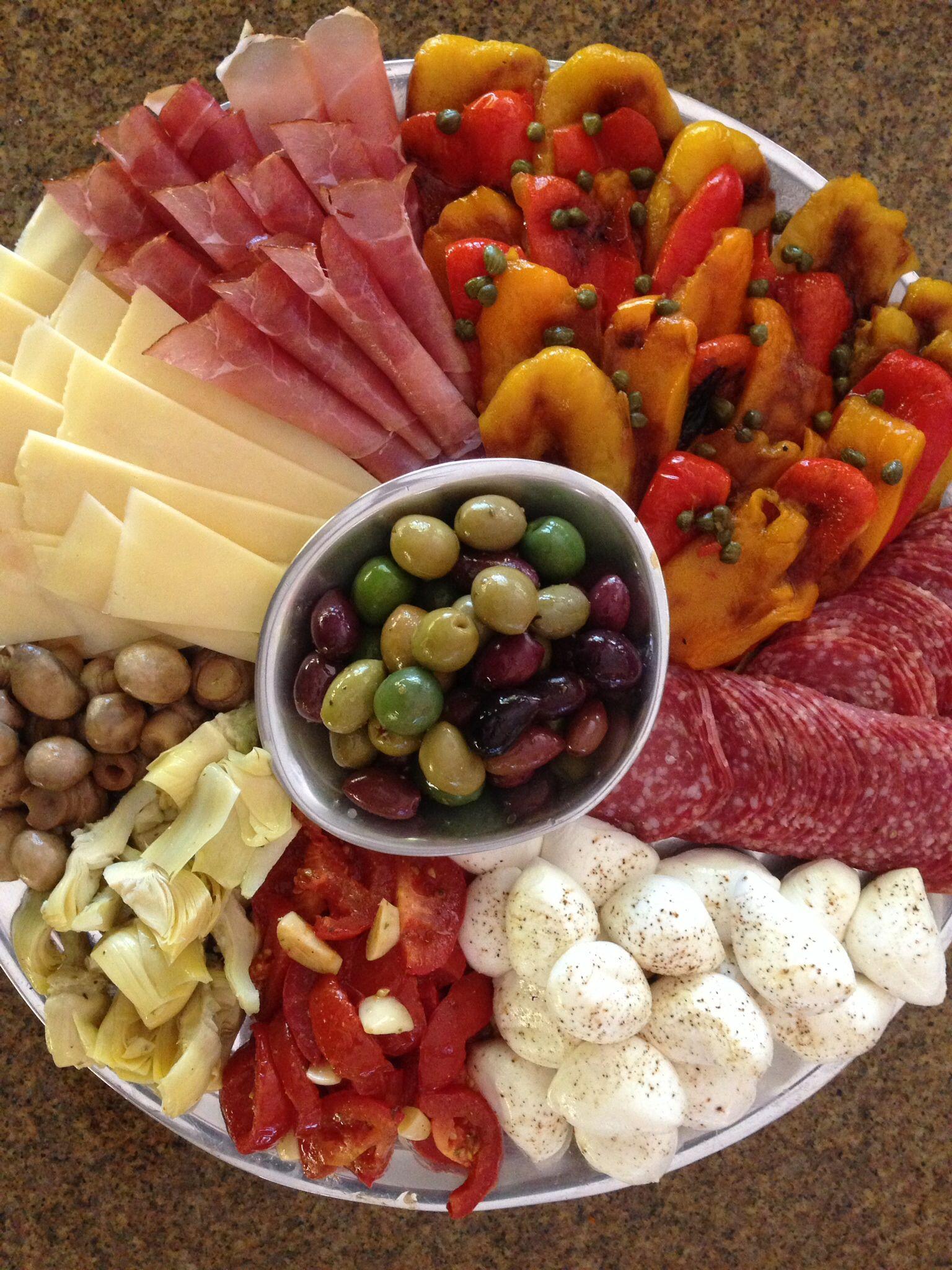 Share Ina garten appetizer platter