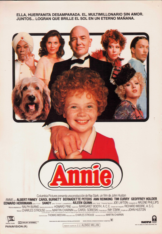 Annie movie poster font generator