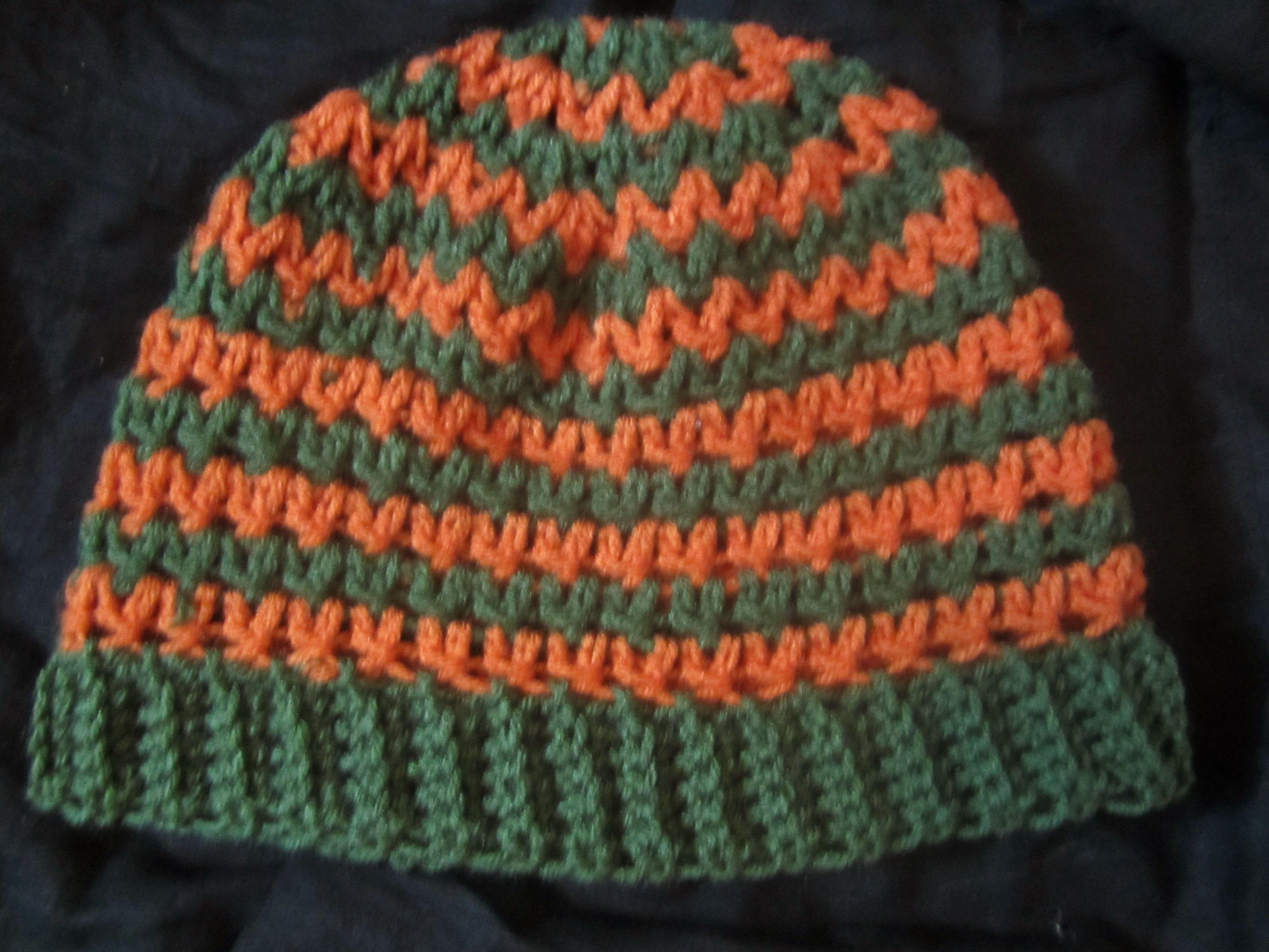 crochet V Stitch hat crochet Pinterest