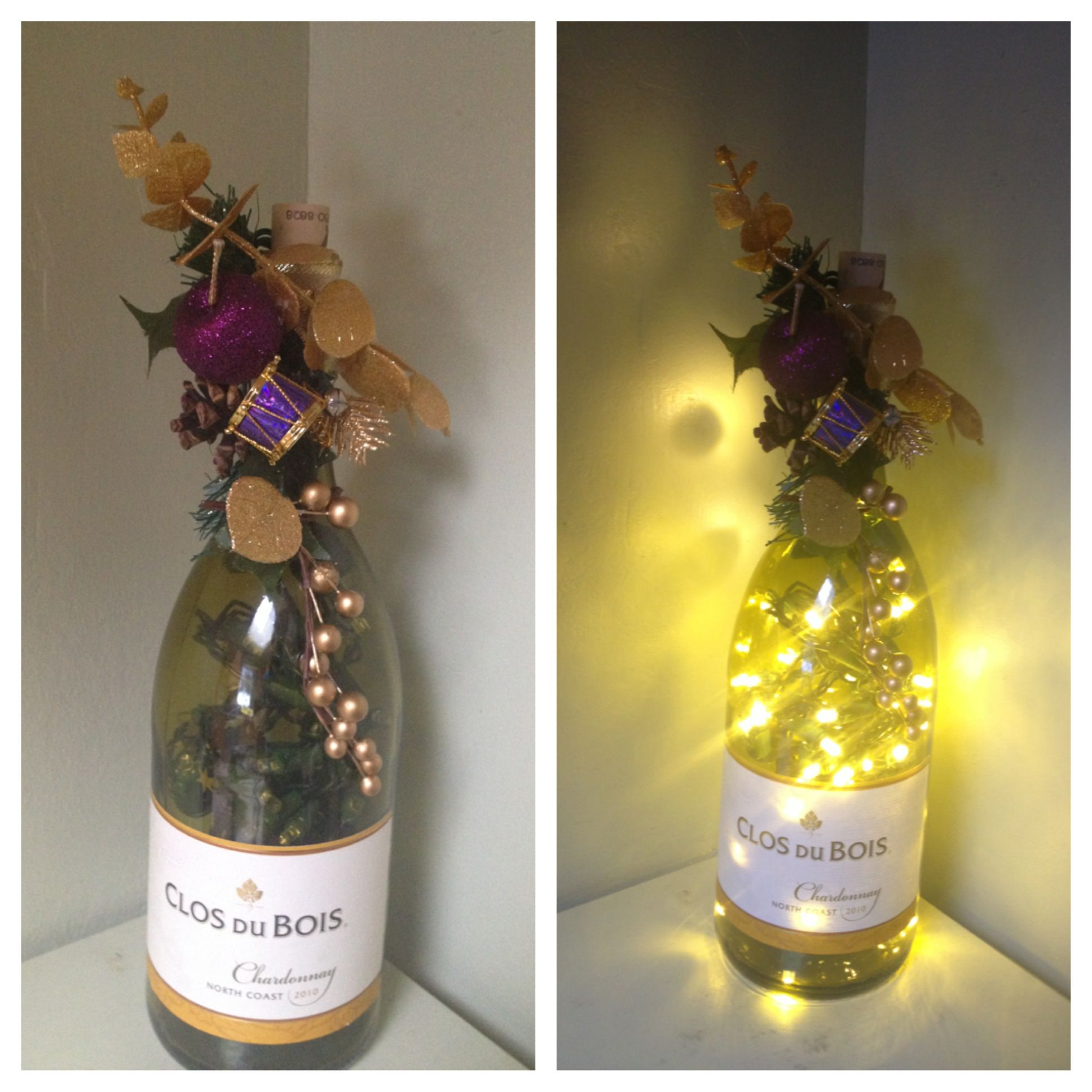 diy wine bottle decorations silhouette crafts pinterest