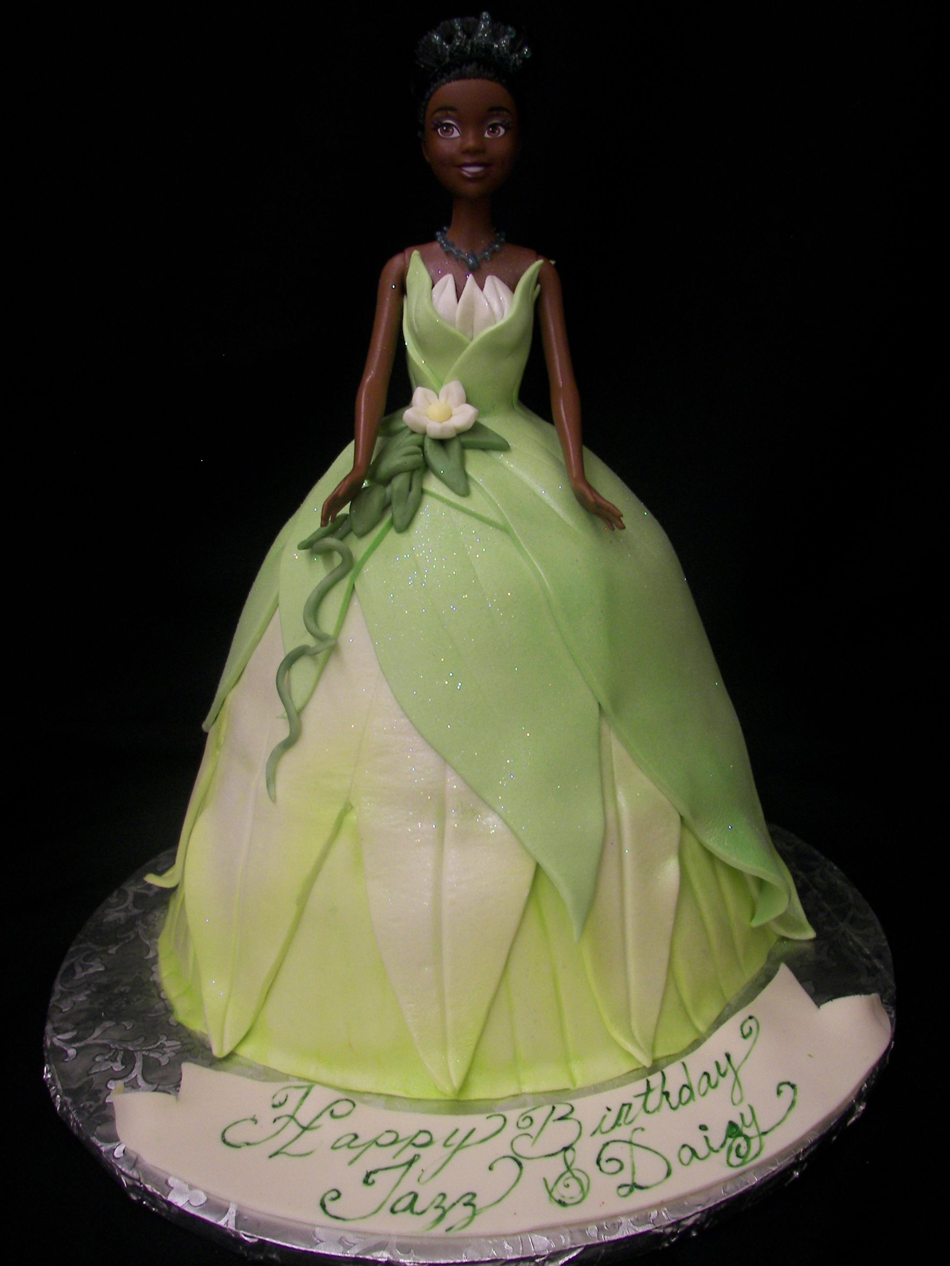 Princess Tiana Cake Images : Frog princess Barbie, Gowns & Princesses cakes Pinterest