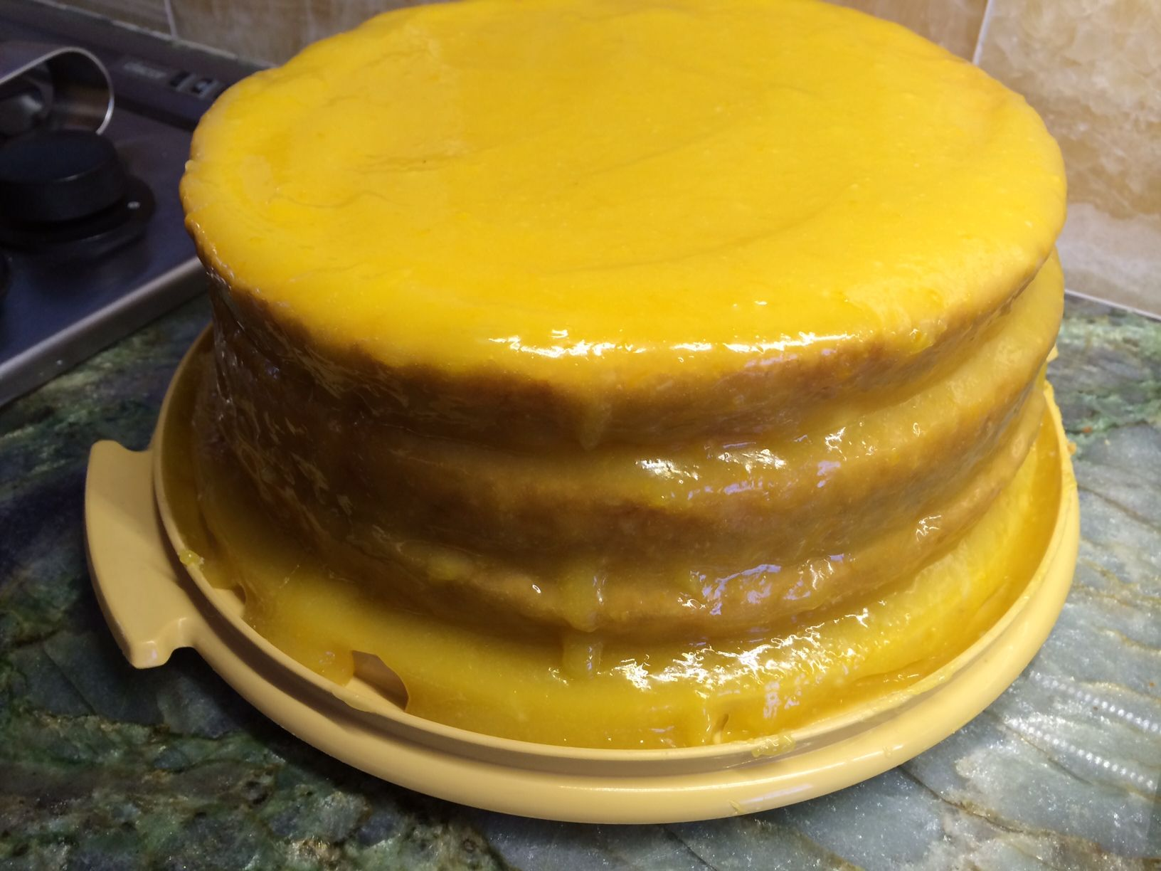 lemon cheese layer cake recipe