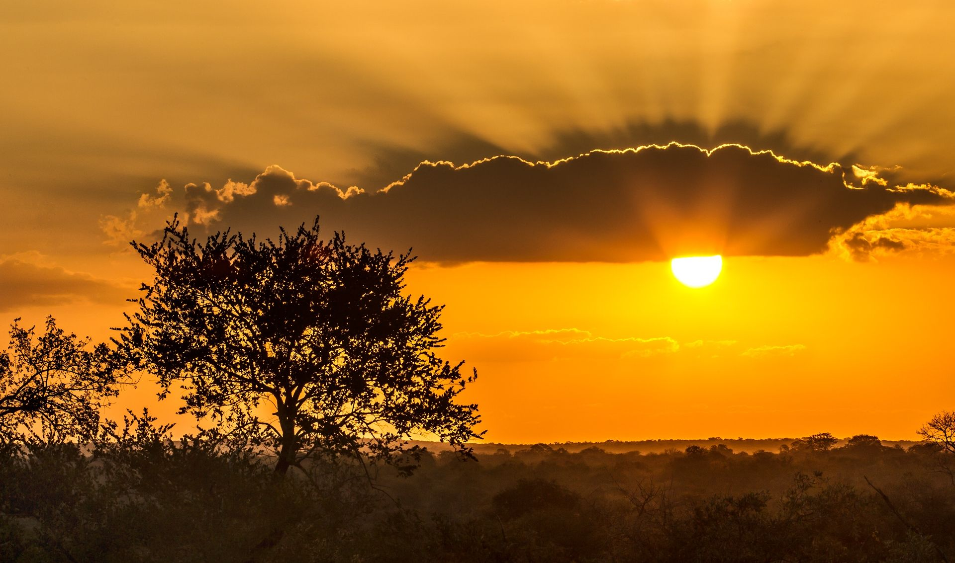 south african sunset photos