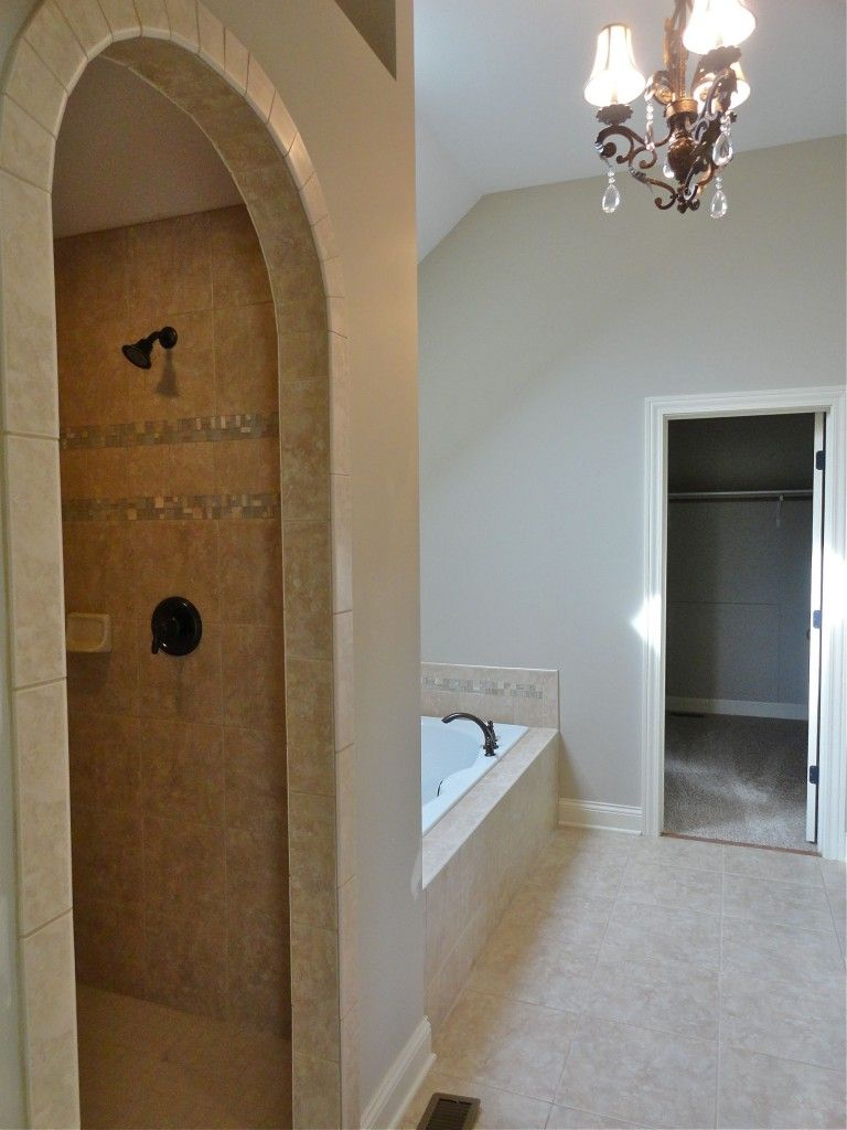 doorless shower  HoMe iDeaS  Pinterest