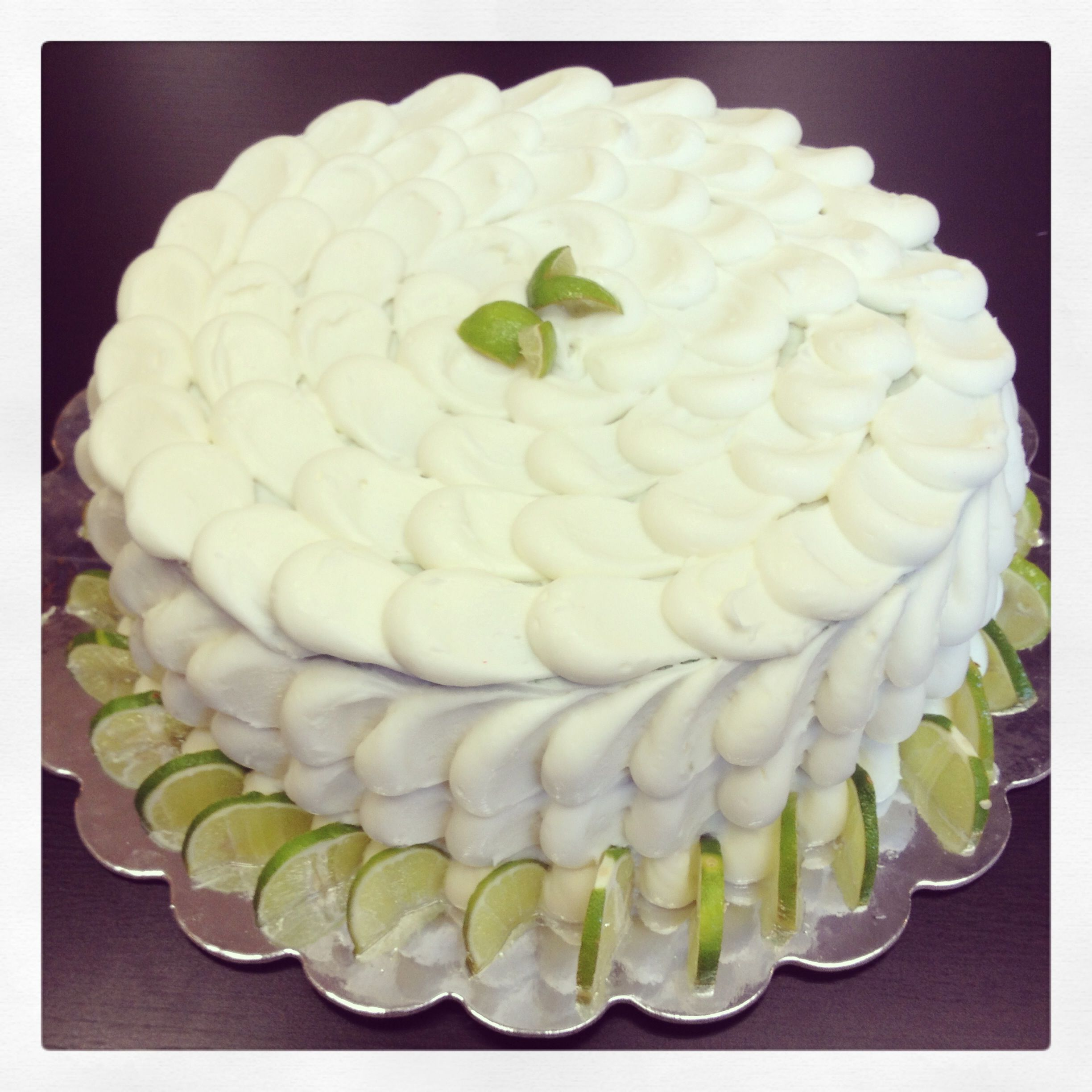 ... cake w i th key lime cream cheese frost i ng key lime cake with lime