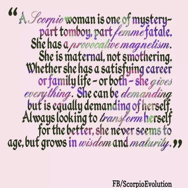 Scorpio Woman |...