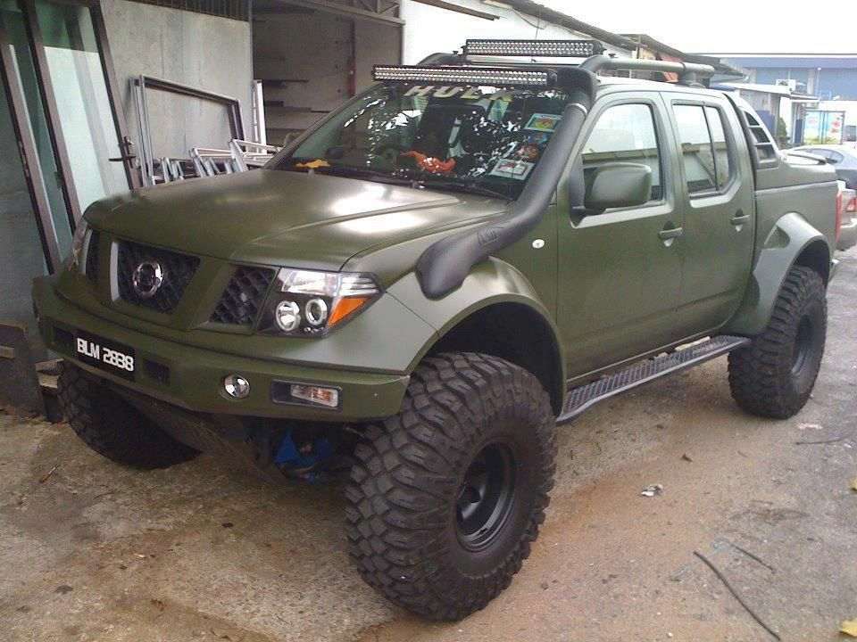 Nissan Frontier Wheels On And Off Road Pinterest
