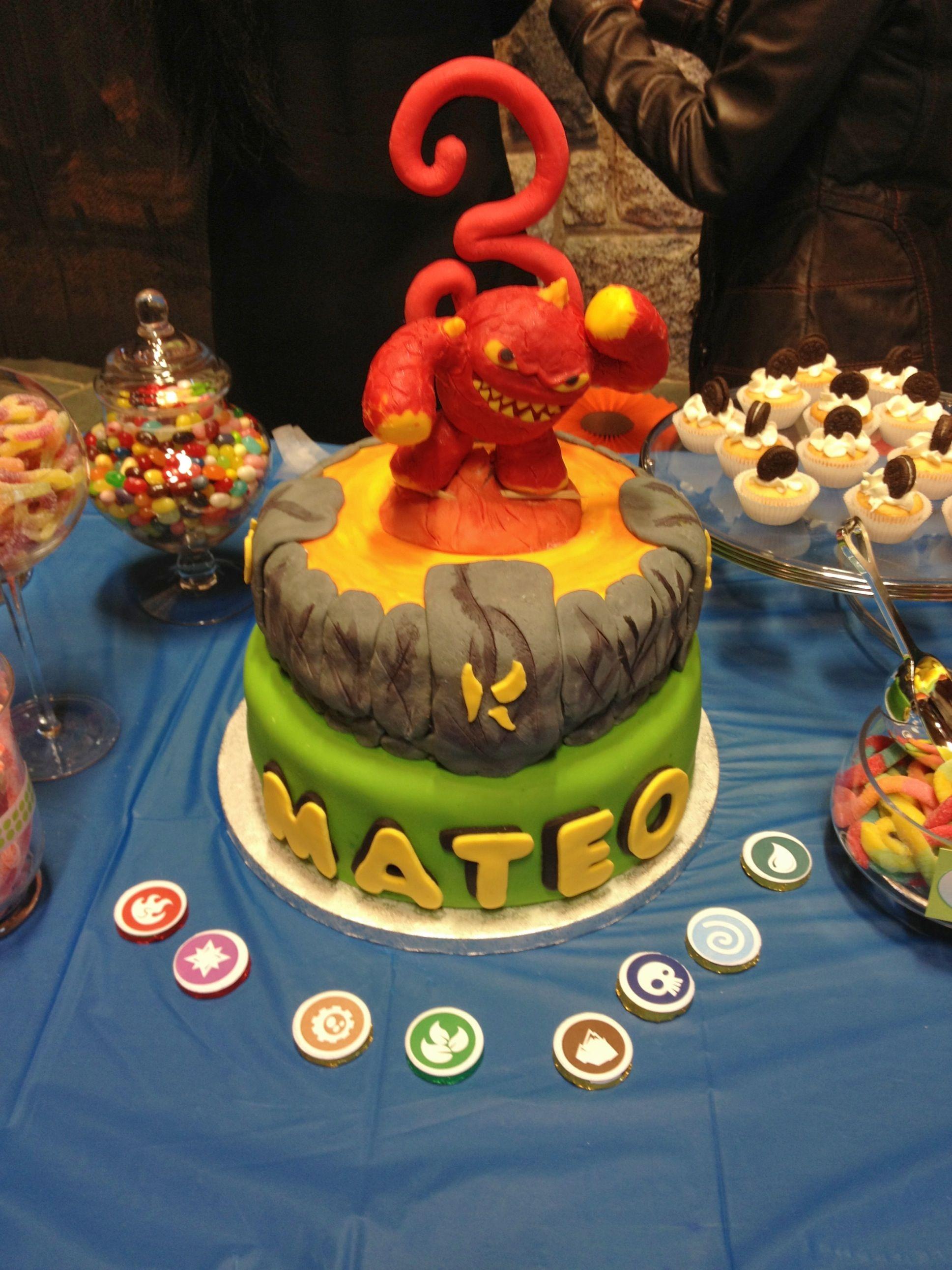 Pin Skylander Birthday — Childrens Cakes Cake On Pinterest
