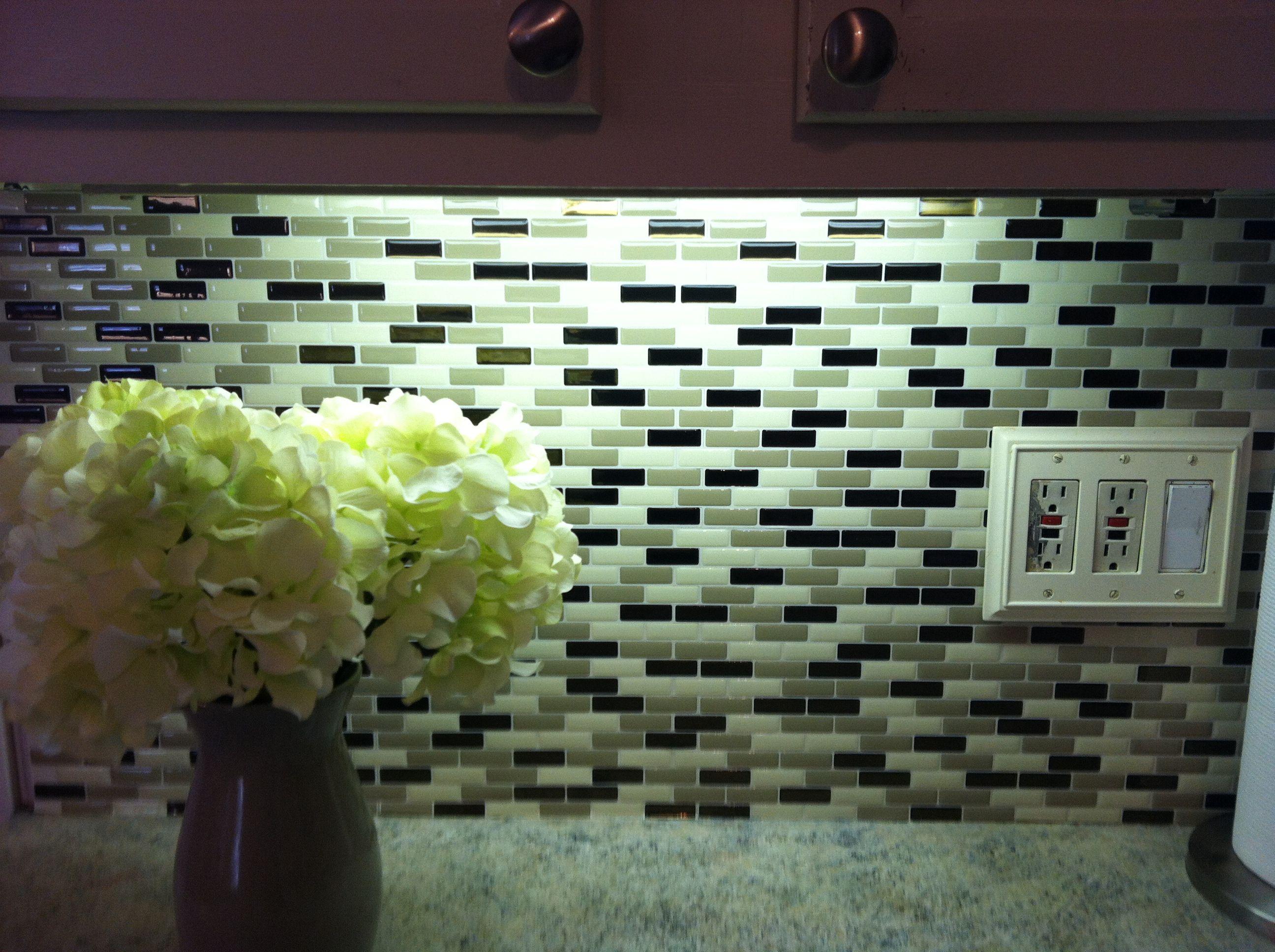 peel n stick tiles for backsplash kitchen pinterest