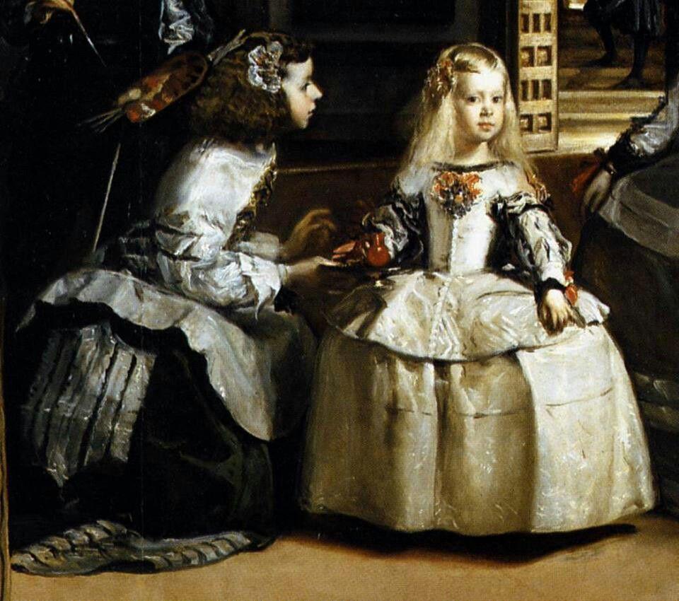 Diego Velasquez, Las Meninas, detail. | Visual Arts ...