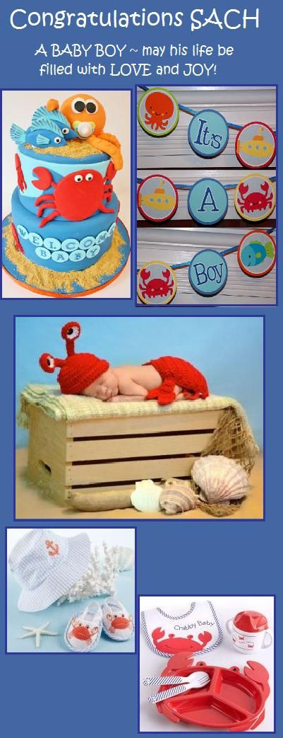 Virtual Baby Shower for Sach