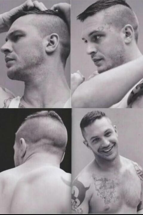 tom hardy hairstyle : Tom Hardy - Haircut Hairstyles Pinterest