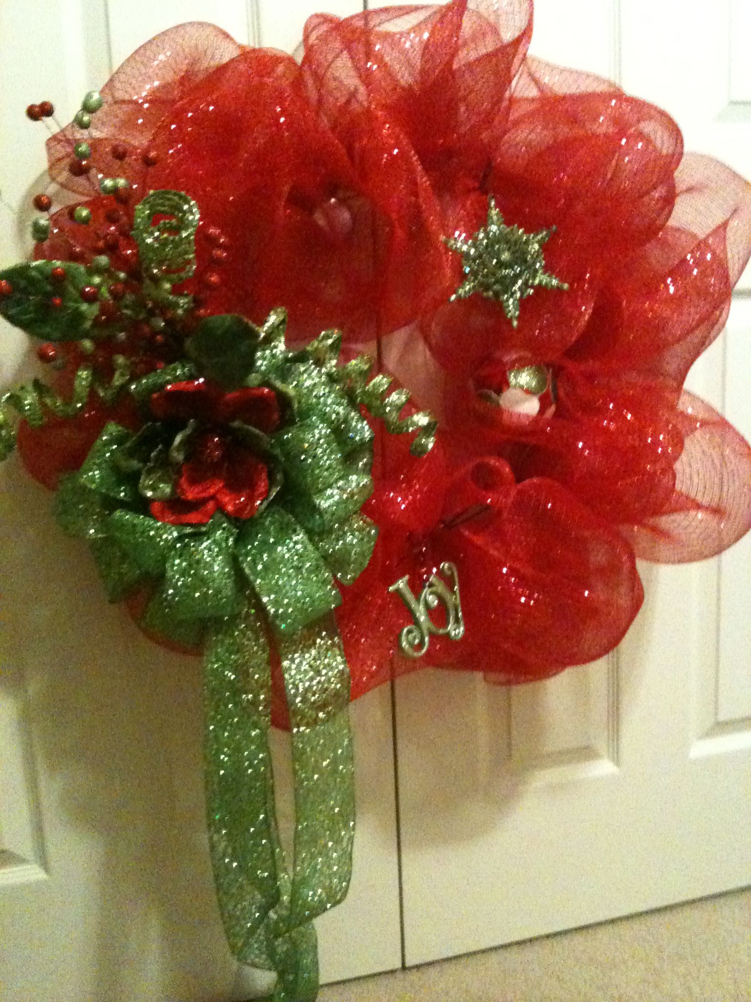 christmas wreath for the home pinterest