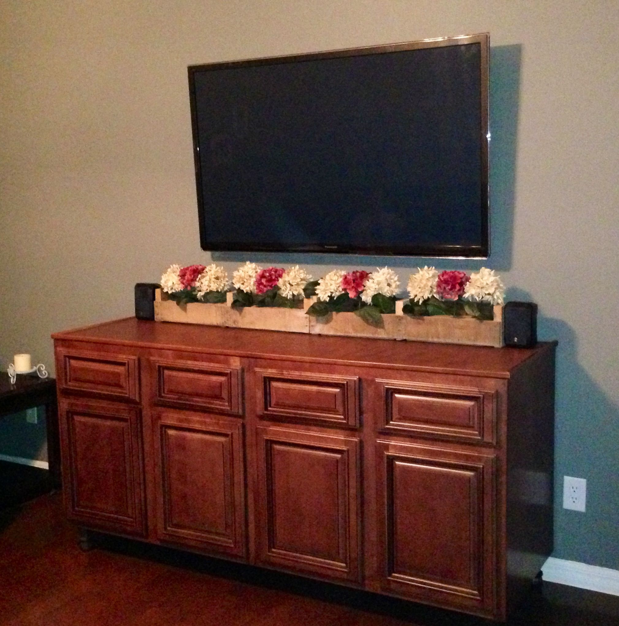 Diy Entertainment Center Home Pinterest