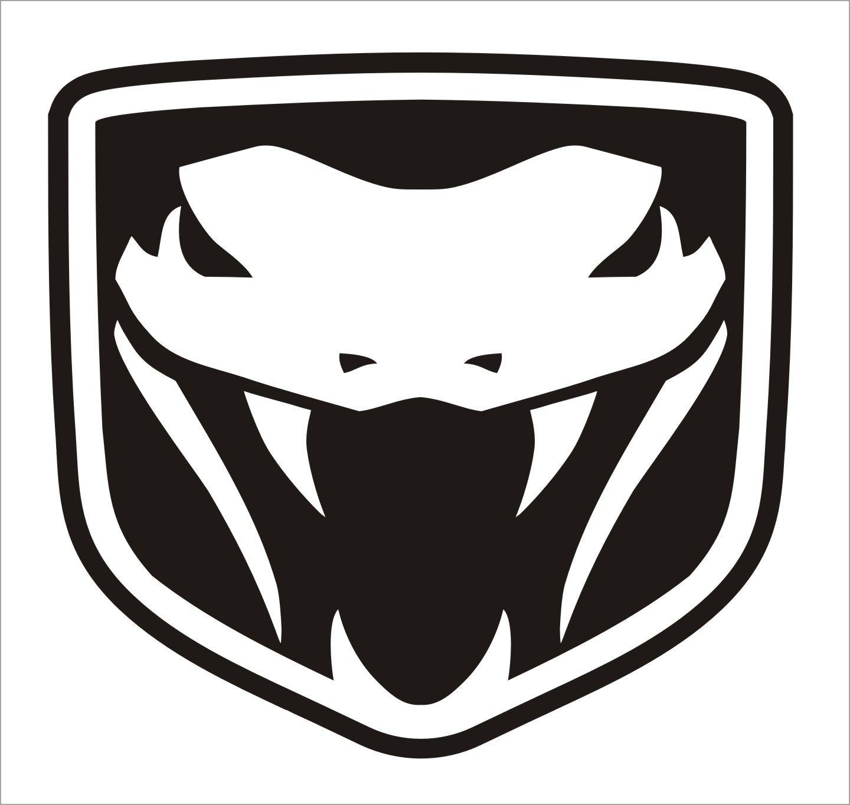 Dodge viper logo on car